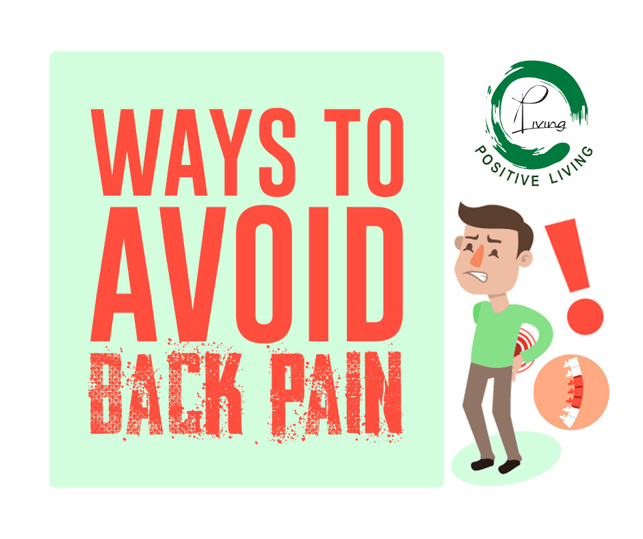 ways to avoid back pain